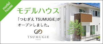 モデルハウス 「つむぎえTSUMUGiE」がオープンしました。